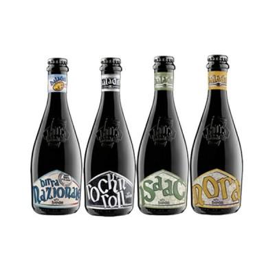 【送料無料】イタリアNo.1クラフトビールメーカー「バラデン」厳選ビールセット イザック/ノラ/ナチオナーレ/ロックンロール 4種4本 ビン・瓶 イタリア ビール…