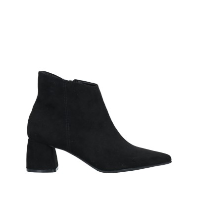 FRANCESCO MILANO ショートブーツ ブラック 35 紡績繊維 ショートブーツ