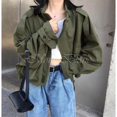 ジャンパー レディースマウンテンパーカー  春コート ジャケット アウター 春 カジュアル 2019 20代 30代 40代