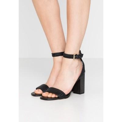 マイケルコース サンダル レディース シューズ PETRA ANKLE STRAP - High heeled sandals - black