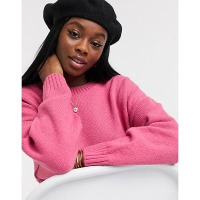 エイソス レディース ニット・セーター アウター ASOS DESIGN oversized chunky crew neck sweater
