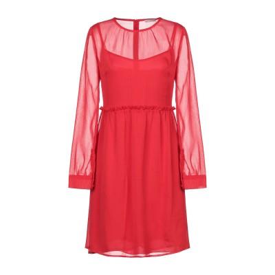 RUE•8ISQUIT ミニワンピース&ドレス レッド 42 ポリエステル 100% ミニワンピース&ドレス