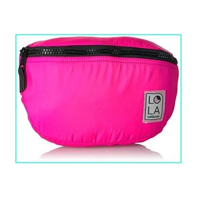 【新品】LOLA Carnival Moonbeam Large Bum Bag, Laser Pink(並行輸入品)