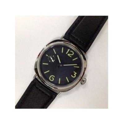 腕時計 メンズ かっこいい レザーベルト ミリタリー 自動巻き