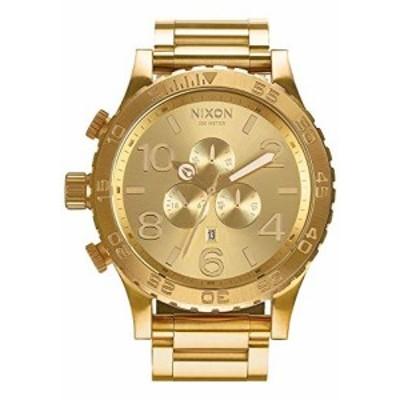 腕時計 ニクソン アメリカ Nixon A083502 51-30 Chrono A083502 All Gold Men's Watch (51mm. Gold Watc