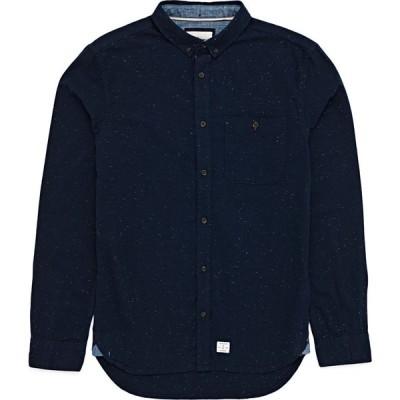 クイックシルバー Quiksilver メンズ シャツ トップス Belambro Shirt Navy/Blazer
