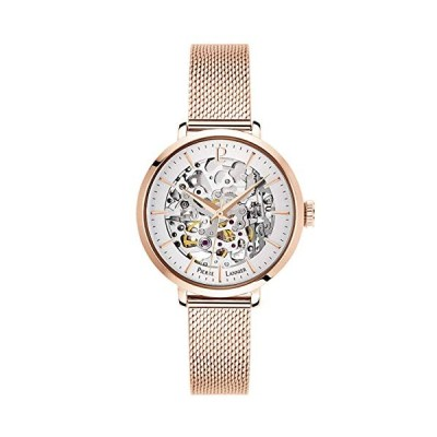 Pierre Lannier Womens Analogue Automatic Watch with Solid Stainless Steel Strap 313B928 並行輸入品