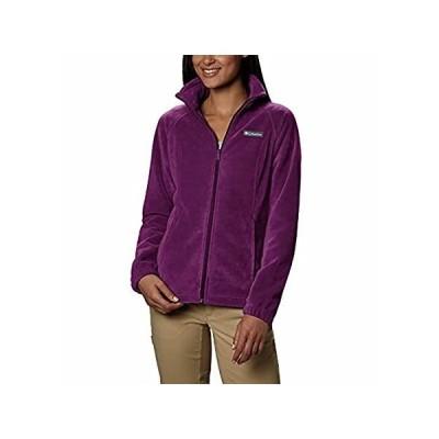 Columbia Women's Petite Benton Springs Full Zip Jacket, Dark Raspberry, X-Lインポート 送料無料