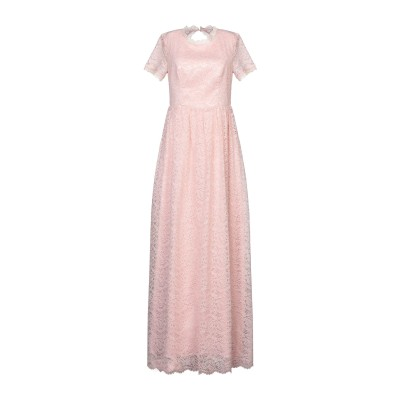 BY MALINA ロングワンピース&ドレス ピンク S ナイロン 60% / コットン 30% / レーヨン 10% ロングワンピース&ドレス