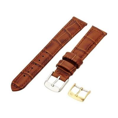 [モレラート]MORELLATO 時計バンド BOTERO ボテロ 18mm ゴールドブラウン 牛革型押し U2226 480 041 01