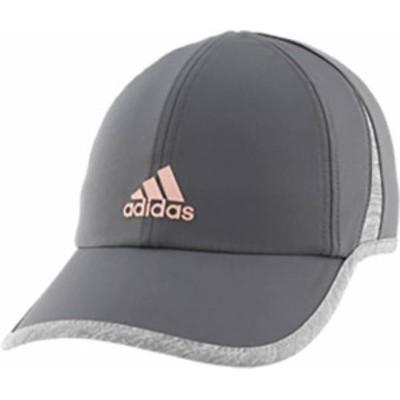 アディダス レディース 帽子 アクセサリー adidas Women's SuperLite Hat Grey/Rosegold