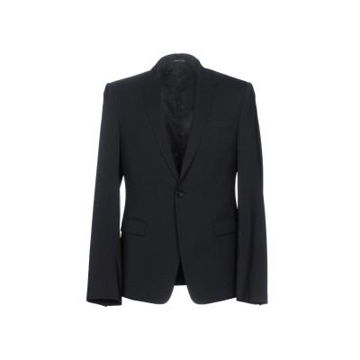 エンポリオ アルマーニ EMPORIO ARMANI テーラードジャケット ブラック 50 ウール 96% / ポリウレタン 4% テーラードジャケ