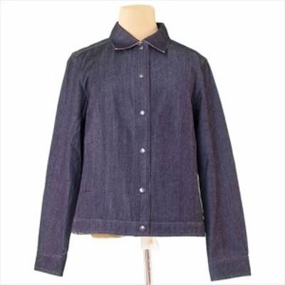 バーバリー BURBERRY ジャケット 上着 服 シングルボタン レディース デニム 服 【中古】 T5132