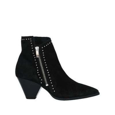 JANET & JANET ショートブーツ ファッション  レディースファッション  レディースシューズ  ブーツ  その他ブーツ ブラック