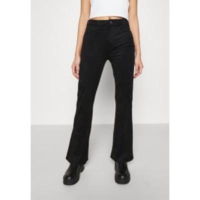 アメリカンイーグル レディース カジュアルパンツ ボトムス FLARE - Trousers - black black