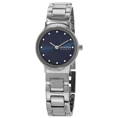 スカーゲン 腕時計 Skagen Freja クォーツ Crystal Blue Dial Ladies Watch SKW2789