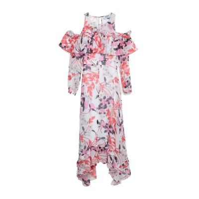 MARTA STUDIO 7分丈ワンピース・ドレス ホワイト 40 シルク 100% 7分丈ワンピース・ドレス