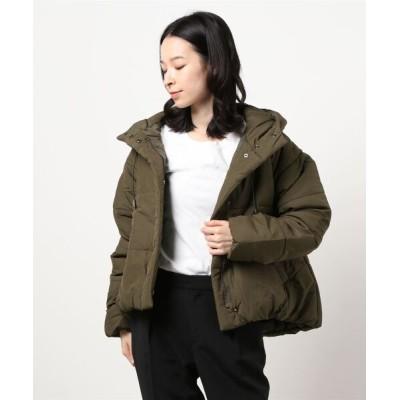 ikka LOUNGE / CR 中綿ショートジャケット WOMEN ジャケット/アウター > ダウンジャケット/コート