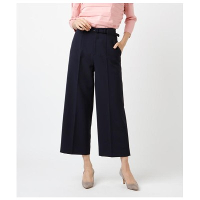 NEWYORKER / ベルテッドセミワイド ハンサムパンツ WOMEN パンツ > パンツ