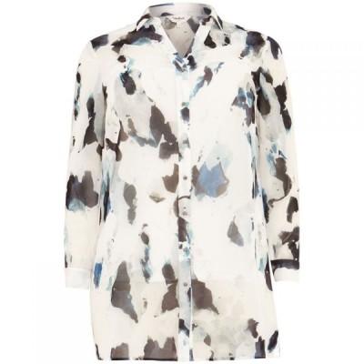 スタジオ8 Studio 8 レディース ブラウス・シャツ トップス Tegan Printed Shirt White