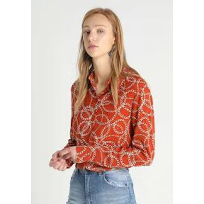 ONLY Tall レディースブラウス ONLY Tall ONLMARTA - Button-down blouse - umber umber