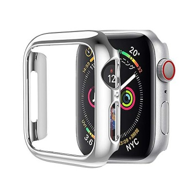 HOCO for Apple Watch Series 5/4 ケース アップルウォッチ カバー 40mm メッキ PC素材 軽量超簿 耐衝撃性 シル