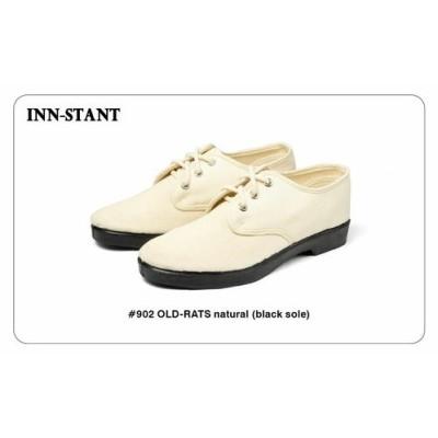 #902 INN-STANT(インスタント)OLD-RATS (black sole) ストアレビューを書いて送料無料