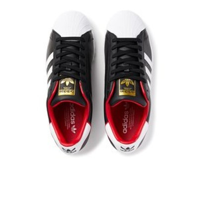 FW6385 SUPERSTAR BLK/WHT/RED 603411-0001