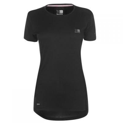 カリマー Karrimor レディース Tシャツ トップス X Racer T Shirt Black