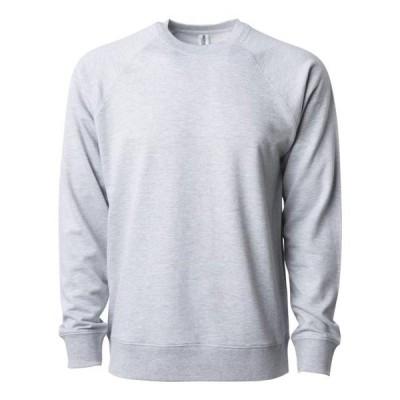 ユニセックス 衣類 トップス Independent Trading Co. - Icon Unisex Lightweight Loopback Terry Crew Independent Trading Co. - NIB Tシャツ
