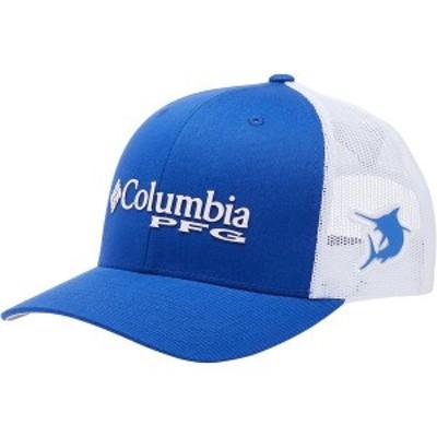コロンビア メンズ 帽子 アクセサリー PFG Mesh Snap Back Ball Cap Tanzanite/White/Marlin