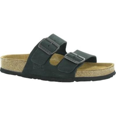 ナオト Naot レディース サンダル・ミュール シューズ・靴 Santa Barbara Black Nubuck