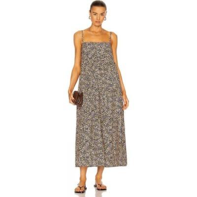 マトー Matteau レディース ワンピース サンドレス Aライン ワンピース・ドレス Tiered Sun Dress Wild Primrose