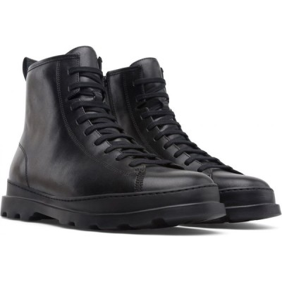 カンペール CAMPER メンズ ブーツ コンバットブーツ シューズ・靴 Brutus Combat Boot Black