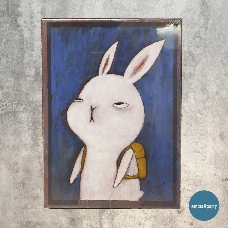emmaAparty插畫拼圖:不想去上班的兔子(520片)