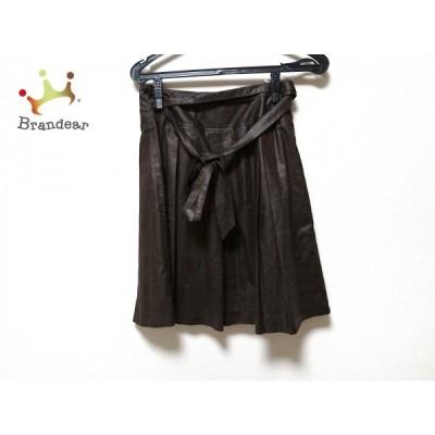 ドゥアルシーヴ Douxarchives スカート レディース 美品 ダークブラウン             スペシャル特価 20190803