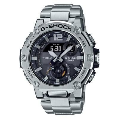 G-SHOCK GST-B300E-5A G-STEEL Gスチール アナデジ ソーラー メンズ腕時計 モバイルリンク CASIO カシオ