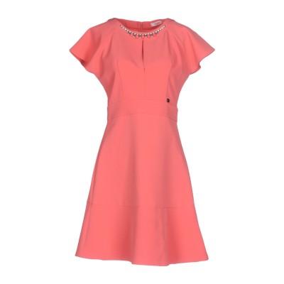 ブルーガール ブルマリン BLUGIRL BLUMARINE ミニワンピース&ドレス ピンク 44 95% ポリエステル 5% ポリウレタン ミニワ
