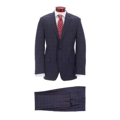 ラルフローレン メンズ ジャケット&ブルゾン アウター Classic Fit Navy Checked Wool Suit Navy