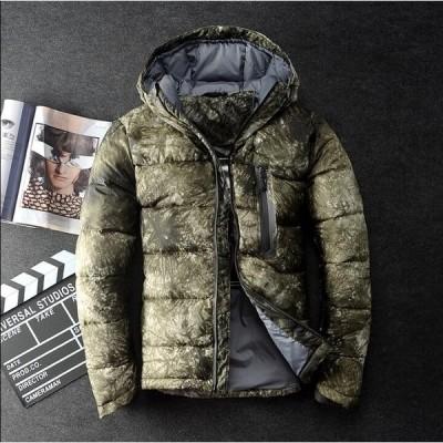 ダウンコート ダウンジャケット メンズ ダウン ショート丈 アウター  防寒 軽量 防風 通勤 暖かい ファスナー カジュアル