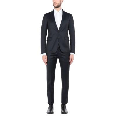 マウロ グリフォーニ MAURO GRIFONI スーツ ダークブルー 52 バージンウール 100% スーツ