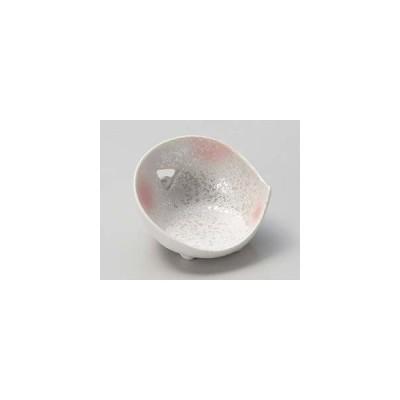 和食器 キ079-037 ピンク吹ラスターミニミニかまくら型珍味