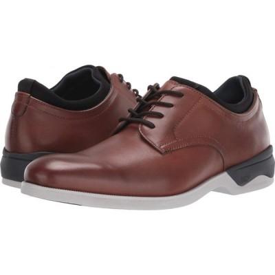 ジョンストン&マーフィー Johnston & Murphy メンズ 革靴・ビジネスシューズ Waterproof XC4 Elkins Casual Plain Toe Oxford Tan Full Grain