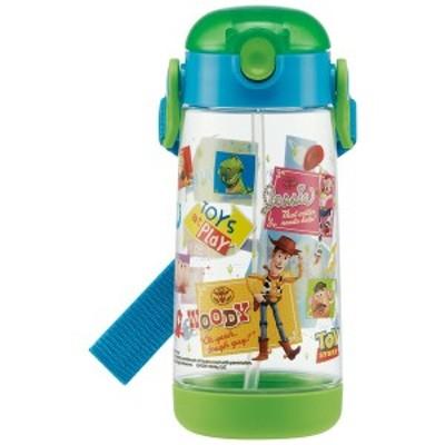 スケーター 子供用 水筒 クリアボトル ストロー付き トイ・ストーリー 20 ディズニー 480ml PDSH5