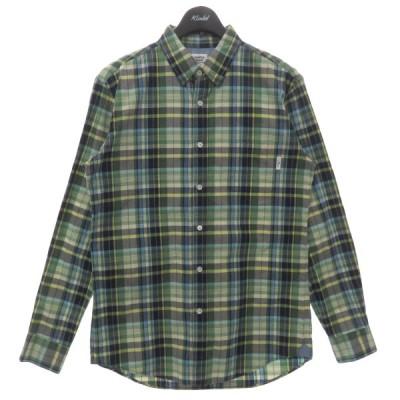 MR.GENTLE MAN 14SS チェックシャツ グリーン サイズ:L (フレスポ東大阪店) 210507
