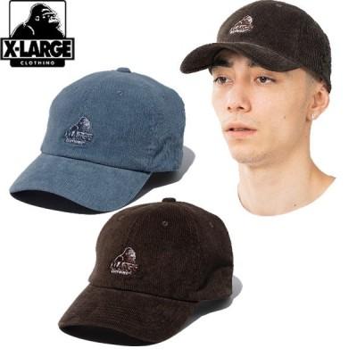 エクストララージ XLARGE SLANTED OG CORDUROY CAP スランテッド オージー コーディロイ キャップ 帽子 ゴリラ メンズ ブランド ストリート