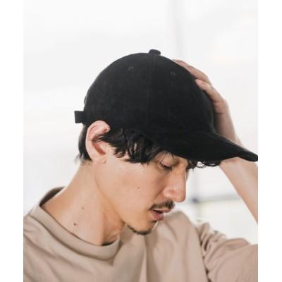 帽子 キャップ FAKESUEDEローキャップ/893816
