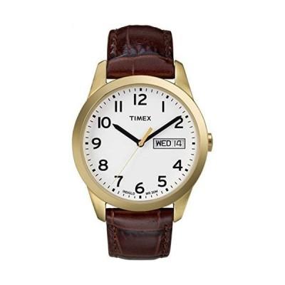 腕時計 タイメックス メンズ T2N065 Timex Men's South Street Sport  Brown  Dress Watch T2N065