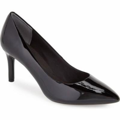 ロックポート ROCKPORT レディース パンプス シューズ・靴 Total Motion Pump Black Patent