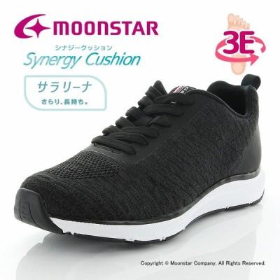 ムーンスター [2020年秋冬新作] moonstar レディース ウォーキングシューズ SNGY L02 Eブラック